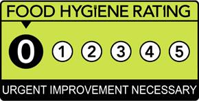 Food Hygiene Rating Scheme Score 0 (Zero)