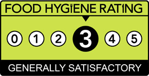 Food Hygiene Rating Scheme Score 3 (Three)