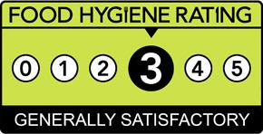 Food Hygiene Rating Scheme Score 3 (Three)