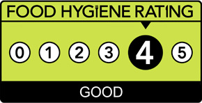 Food Hygiene Rating Scheme Score 4 (Four)