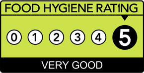 Food Hygiene Rating Scheme Score 5 (Five)