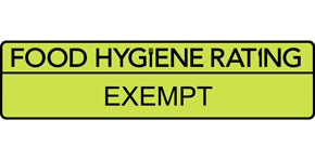 Food Hygiene Rating Scheme Exempt